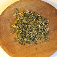 tisztulj meg tea tálban